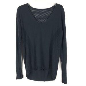 Lululemon Still Movement Cotton blend Sweater